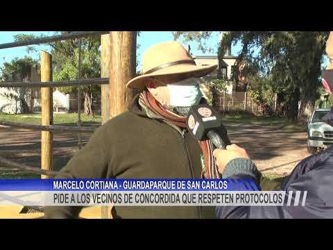Piden que se respeten los protocolos dentro del Parque San Carlos