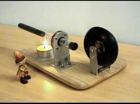 Lamina Flow Stirling Engine