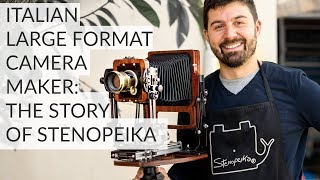 Italian Large Format Camera Maker - Interview (ENG subtitles)