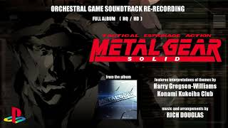Metal Gear Solid - Cinematic Orchestra Re-Recording - Full Album (HD / HQ)