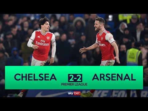 Chelsea 2-2 Arsenal | 10-Man Arsenal Grab Late Equaliser at Chelsea!
