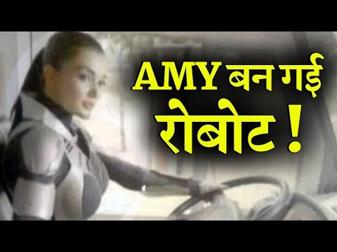 LEAKED! Amy Jackson To Play Robot in Robot 2? thumbnail
