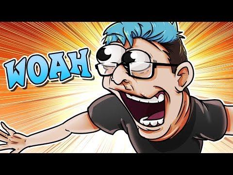 CRASH BANDICOOT WOAH!! - GMod Deathrun Funny Moments (Garrys Mod Gameplay)