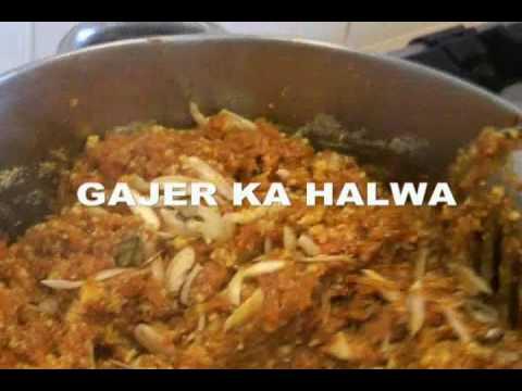 """ GAJER KA HALWA "" Carrot Halwa - Bajias Cooking"