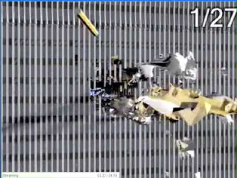 9-11 Twin Towers Attack 3D simulation