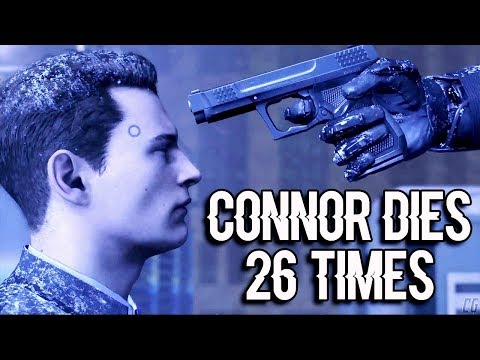 Connor Dies 26 Times in Detroit: Become Human (all episodes)