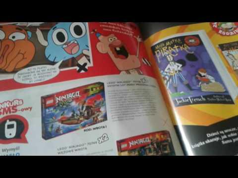 Magazyn Cartoon Network Z Super Prezentem Płyta Lego Ninjago