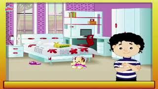 Inside My House (माझे घर)   Kindergarten Educational Videos For Kids   Pre School
