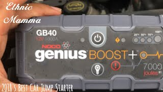 Car Hacks| NOCO Genius Boost Plus GB40 1000 Amp Jump Starter !