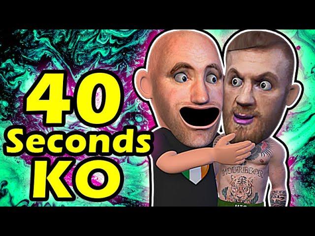 Conor McGregor VS Donald Cerrone 40 seconds KO thumbnail