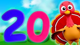 1 to 20 Numbers Song | Preschool Learning Videos For Children