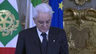 Roma - Mattarella alla celebrazione della Giornata Internazionale della Donna (07.03.15)