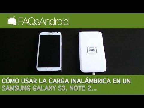 Cómo usar la carga inalámbrica en el Samsung Galaxy S3 y Note 2   FAQsAndroid.com