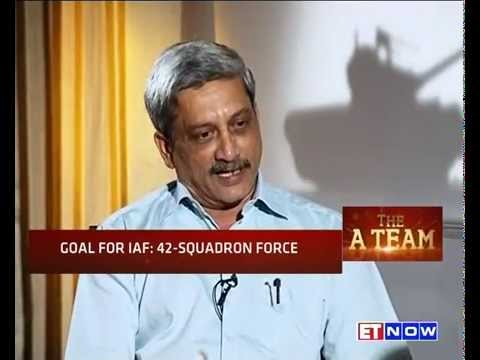#Modi365 The A Team | Defence Min Manohar Parrikar | EXCLUSIVE