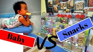 Funny Baby Eating - New Fun and Fails Baby Video - Baby Try New Snacks