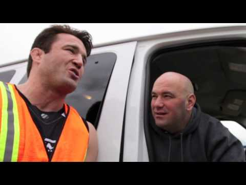Dana White UFC on FOX 5 Henderson vs. Diaz vlog day 1