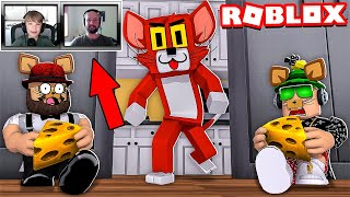 CAT AND MOUSE HIDE AND SEEK in ROBLOX KITTY CHAPTER 2