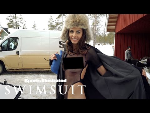 Bo Krsmanovic Flashes Her Body In The Finnish Snow | Outtakes | Sports Illustrated Swimsuit