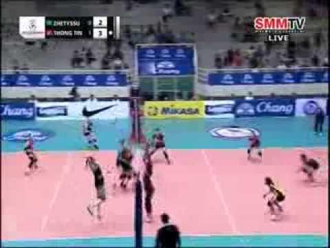Vietnam vs Kazakhstan (Quarterfinals) - 2014 Asian Women's Club Championship