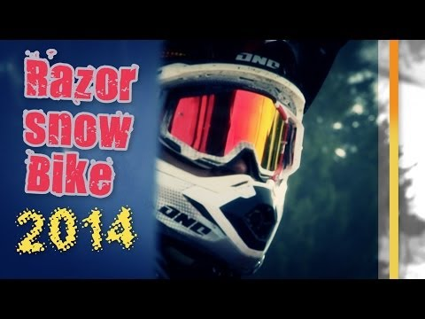 La Razor Snow Bike 2014: reportage n' ride...