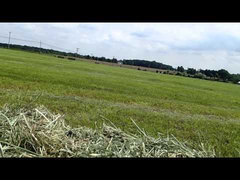 Baling and Stacking Hay