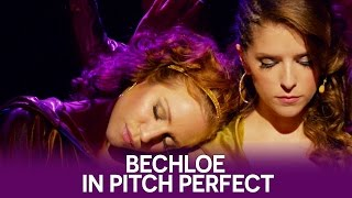 Anna Kendrick & Brittany Snow talk about Bechloe in Pitch Perfect