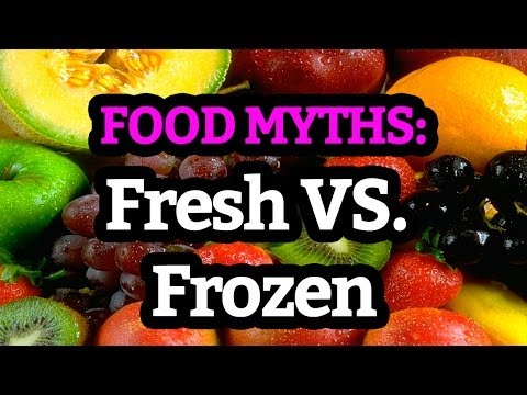 Food Myths: Are Frozen Vegetables Less Healthy than Fresh?