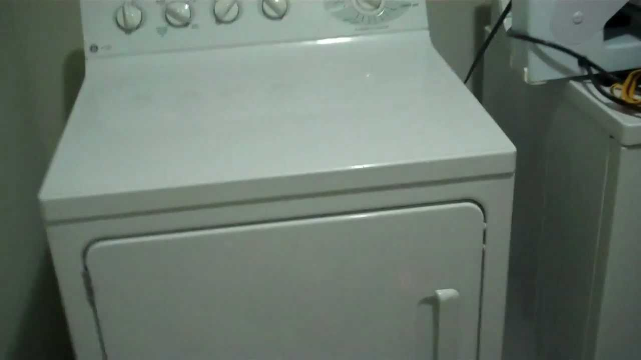 GE Profile Dryer Squeaking Noise YouTube