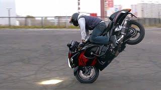 Download Suzuki Hayabusa Stunt 3Gp Mp4