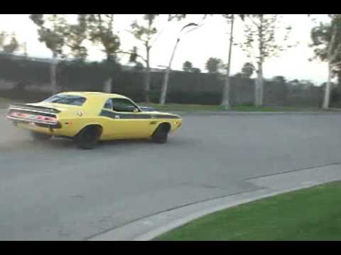 Hotchkis 70 Challenger Cornering & Donuts Video