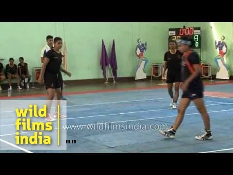 Girls Kabaddi final match - Maharashtra vs West Bengal