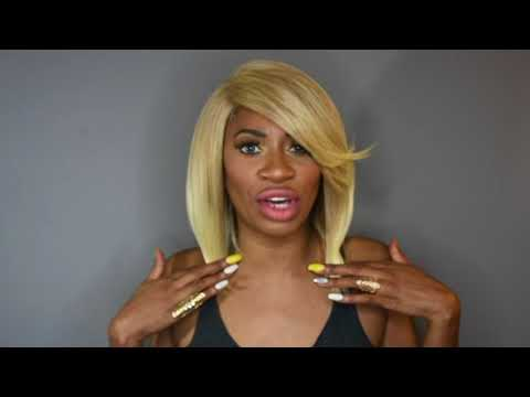 YASSS Blonde Bob - MotownTress CLAIR color 27/613 www.SOGOODBB.com