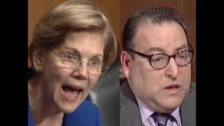 """THIS IS AN EASY QUESTION!!!"" Elizabeth Warren DESTROYS Trump's ""Civil Rights"" Nominee"