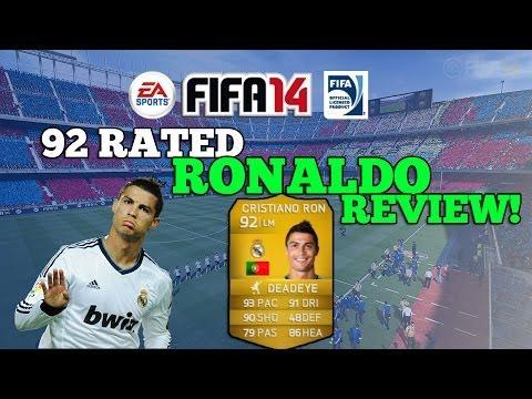 FIFA 14 - 92 RATED RONALDO REVIEW!