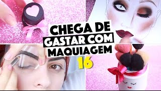 CRIANDO KIT DE MAQUIAGEM CASEIRA SEM GASTAR NADA #16 | KIM ROSACUCA