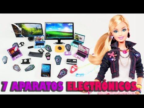 Haz 7 aparatos electr�nicos personales para mu�ecas