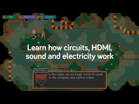 Know your computer, unlock your powers in STORY MODE