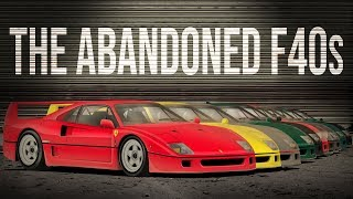 How Many Ferrari F40s Are 'Abandoned' In Brunei?