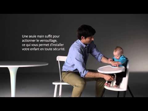 comment reparer une housse de chaise haute