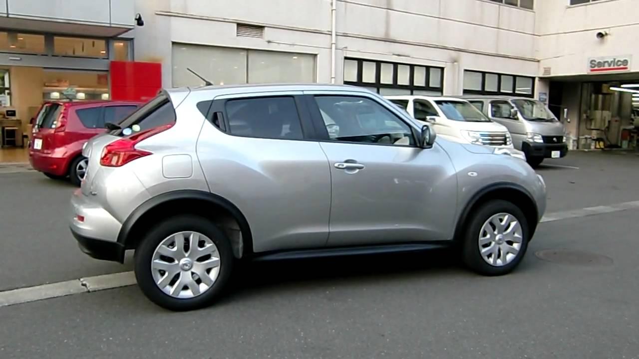 Silver Nissan Juke New Crossover Suv Youtube