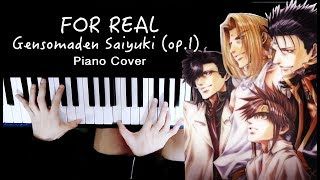 Gensomaden Saiyuki - For Real | Rain Piano