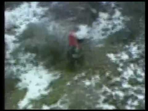 Car flies off a cliff!