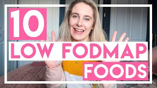 10 Low FODMAP Foods You Didn't Know You Can Eat | Becky Excell
