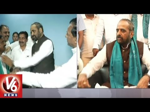 Union Minister Hansraj Gangaram Visits Nizamabad District, Praises Modi Govt | V6 News