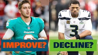 5 NFL Teams that WILL IMPROVE in 2019... and 5 that WILL DECLINE!