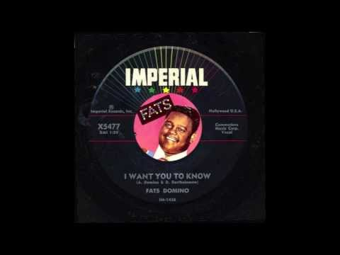 Fats Domino - I Want You To Know
