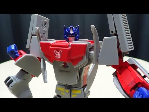 Takara Playstation Optimus Prime: Emgo's Transformers Reviews N' Stuff video