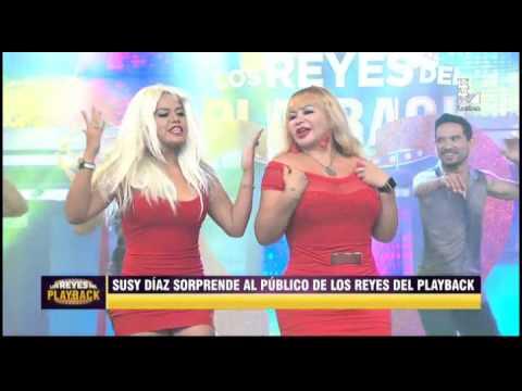 Florcita Polo Y Susy Díaz Hicieron Increíble Playback De 'Mueve La Cabeza'