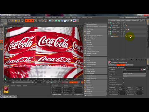 Tutorial Cinema 4D: Modelar una Lata de refresco