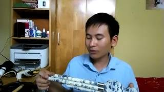 Hướng dẫn thổi Các nốt trên cây sáo bầu    Cách bấm